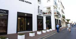 Louis Vuitton in Puerto Banus