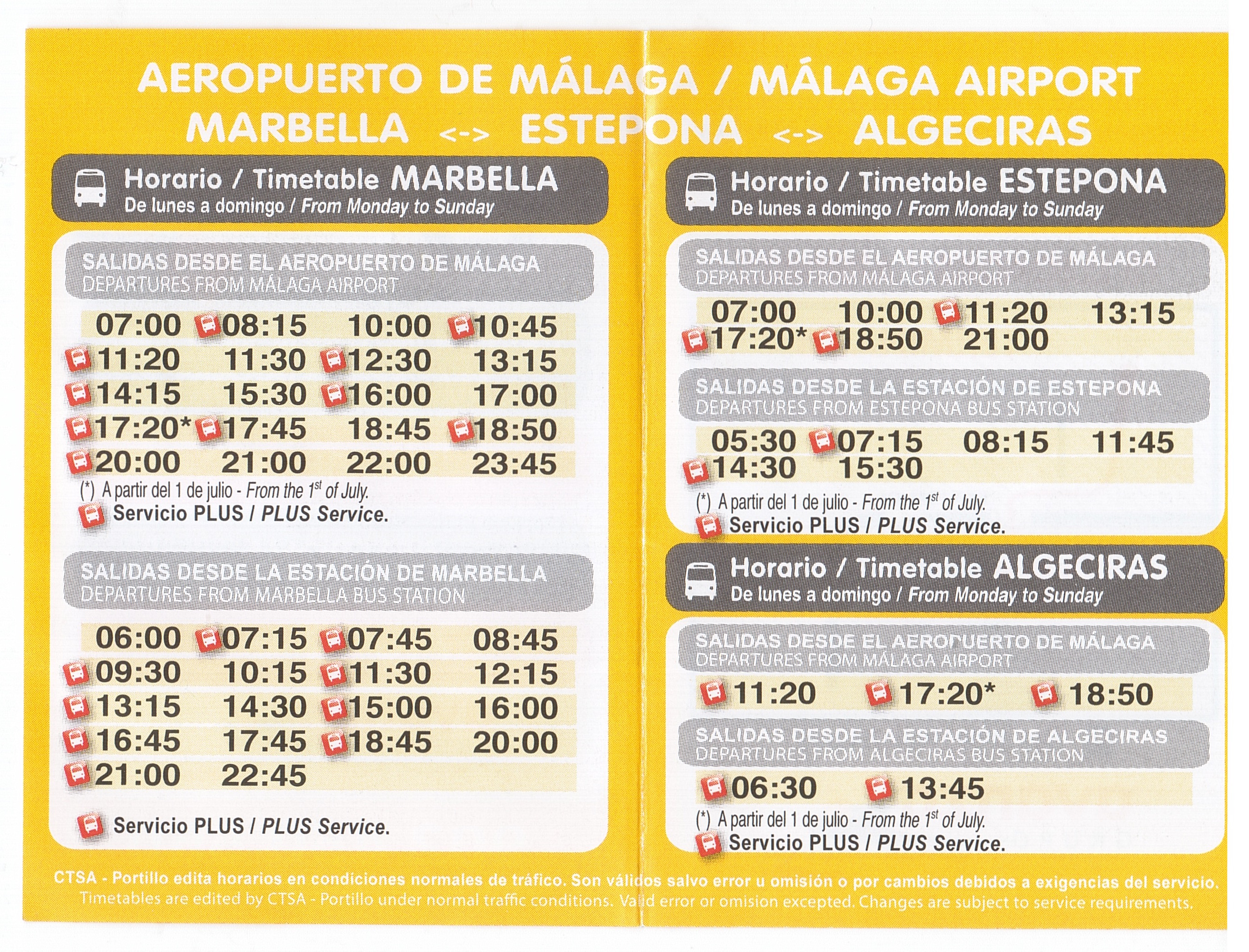 Malaga airport bus getting to and from the airport Malaga