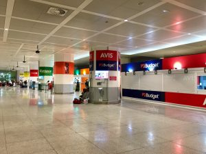 Car Hire Desk Malaga Airport