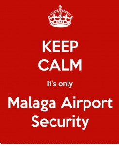 Security at Malaga Airport