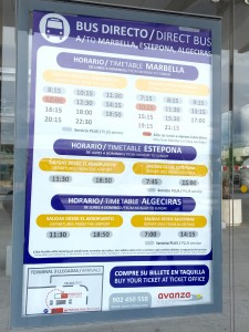 Malaga Airport Direct Bus Marbella