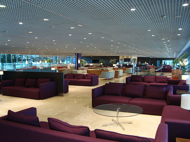 VIP lounge at Malaga Airport