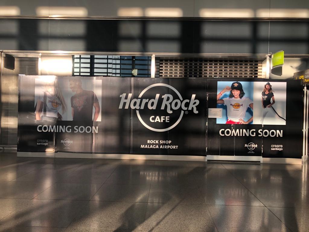 Hard Rock Cafe Malaga Airport