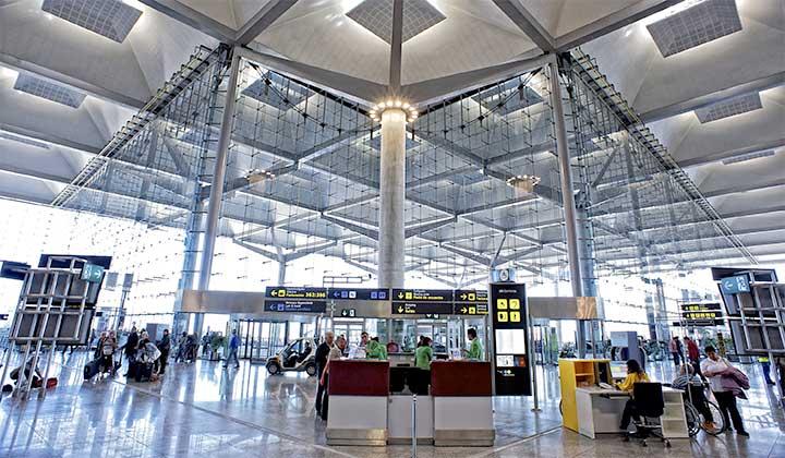Aeropuerto de Málaga, entrada T3