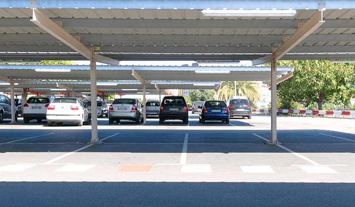 Málaga airport long term parking - Credit: No-Mad / Shutterstock.com