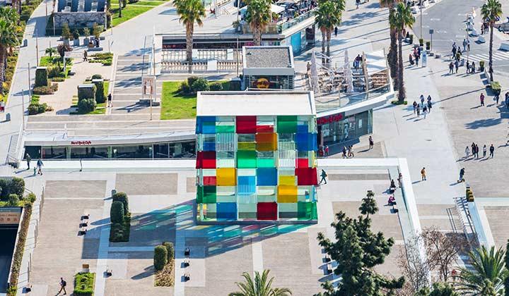 Málaga Pompidou Centre - credit: Andres Garcia Martin / Shutterstock.com