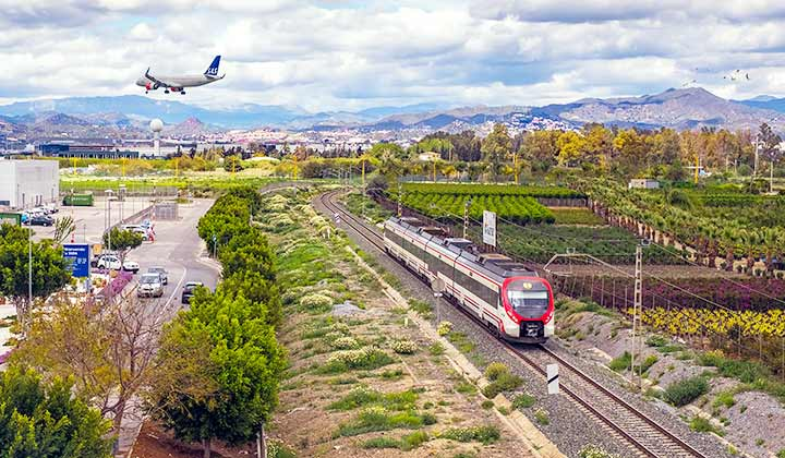 Málaga airport to Fuengirola - Credit: Roberto Sorin / Shutterstock.com