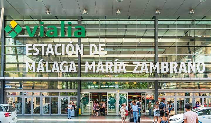 Málaga Zambrano station - credit: Adam Hoglund / Shutterstock.com