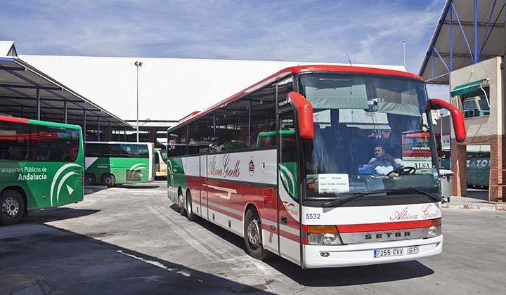 Málaga bus station - Credit: GConner Photo / Shutterstock.com