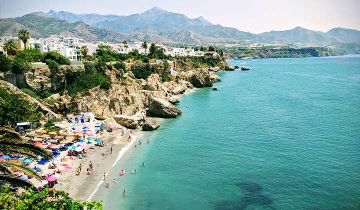 Costa del Sol beaches, Nerja