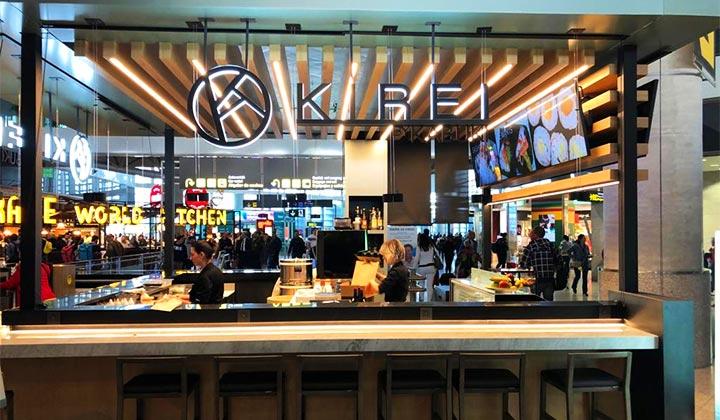 Bares y Restaurantes en el Aeropuerto de Málaga - Kirei