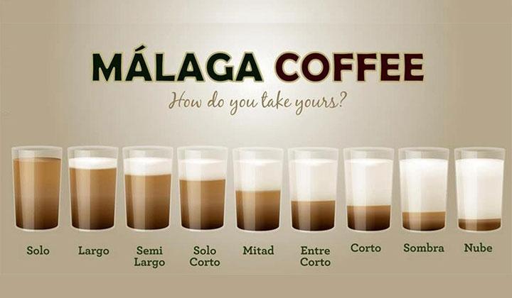 Malaga Coffee types