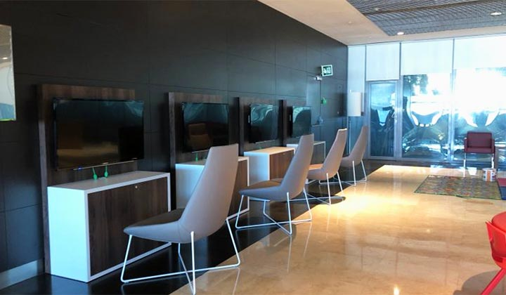 Sala VIP area Internet