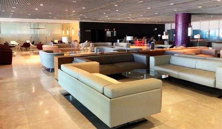 Sala VIP aeropuerto de Malaga